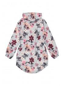 Older Girls Floral Shower Resistant Cagoule