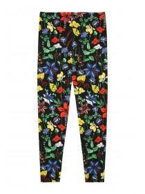 Older Girls Multicolour Floral Leggings