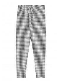 Older Girls Monochrome Dogtooth Leggings