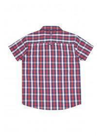 Older Boys Lambretta Red Check Shirt