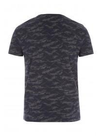 Mens Grey Camo T-Shirt