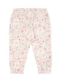 Baby Girls Pink Floral Joggers