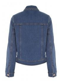 Womens Mid Blue Denim Jacket