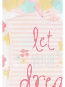 Baby Girls 2pk Pink Bibs
