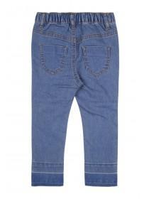 Younger Girls Blue Rip and Repair Jeans