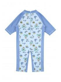 Baby Boys Blue Sun Safe Swim Set