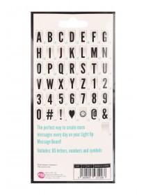 Message Board 85pc Letter Tiles Pack