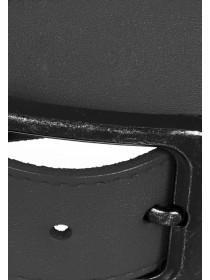 Mens Black Leather Belt