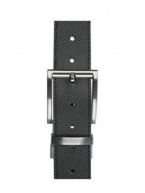 Mens Textured Reversible Belt