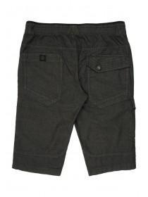 Mens Charcoal Chambray Shorts