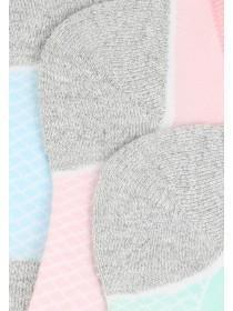 Womens 3pk Cushioned Socks
