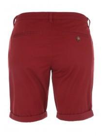 Mens Red Chino Shorts