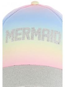 Older Girls Rainbow Mermaid Cap