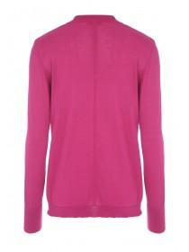 Womens Pink Choker Jumper