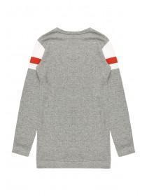 Older Girls Grey Sporty Sweater
