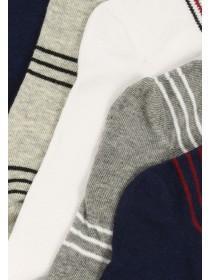 Mens 5pk Multicoloured Trainer Socks