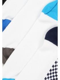 Mens 5pk White Trainer Socks