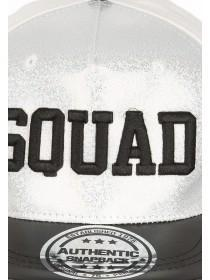 Older Girls Silver Squad Snapback Hat