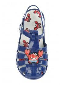 Younger Boys Blue Crab Jelly Sandals