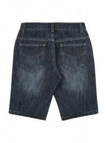 Older Boys Blue Denim Shorts