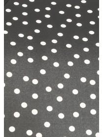 Womens Monochrome Spot Mini Umbrella