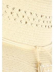 Womens Natural Floppy Hat