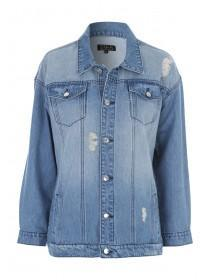 Womens Denim 365 Blue Oversized Jacket