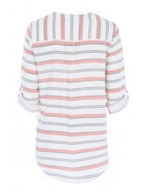 Womens Pink Stripe Shirt