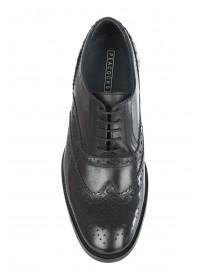 Mens Black Leather Brogues