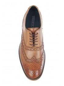 Mens Tan Leather Brogues