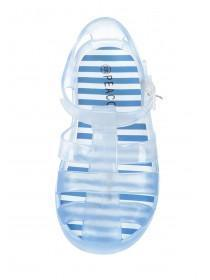 Younger Boys Blue Ombre Jelly Shoes