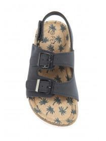 Younger Boys Blue Buckle Sandals