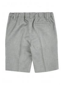 Younger Boys Grey Formal Shorts
