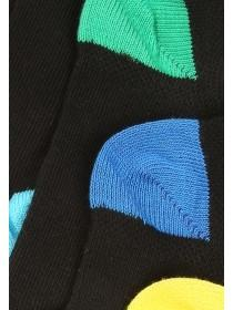 Boys 5pk Black Trainer Socks