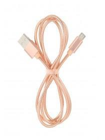 Rose Gold Metal USB Cable