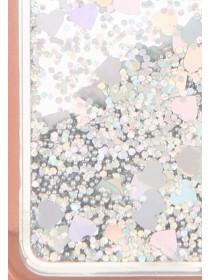 Womens Rose Gold Moving Glitter Phone Case