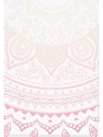 Womens Pink Ombre Paisley Phone Case