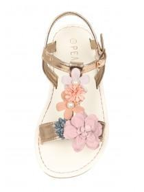 Younger Girls Flower Sandals