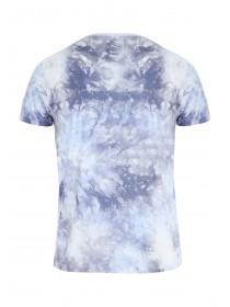 Mens Blue Tie Dye T-Shirt