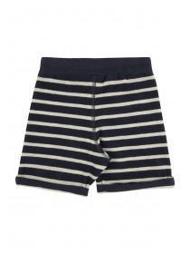 Younger Boys Grey Stripe Shorts