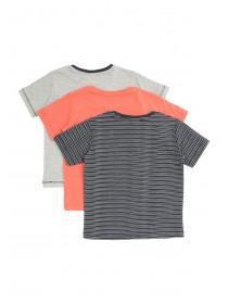 Younger Boys 3pk T-Shirts