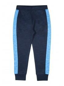 Younger Boys Blue Panel Joggers