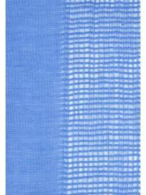 Women Blue Open Weave Scarf