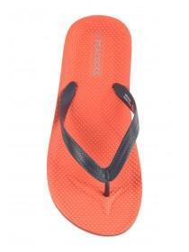 Mens Orange Flip Flops