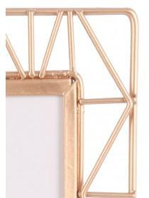 Rose Gold Geometric Picture Frame