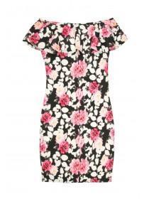 Older Girls Floral Bardot Dress