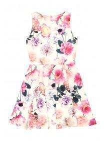 Older Girls Floral Skater Dress