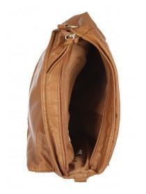 Womens Tan Satchel Bag