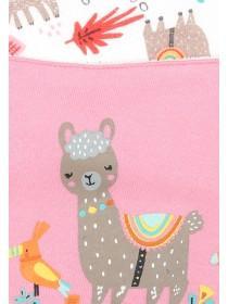 Baby Girls 2pk Pink Animal Bibs