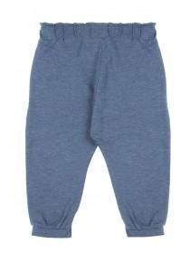 Baby Girls Blue Bow Trousers